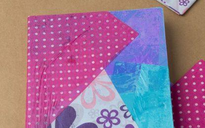 Aprende a hacer cuadernos escolares