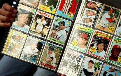 Coleccionar Tarjetas de Beisbol