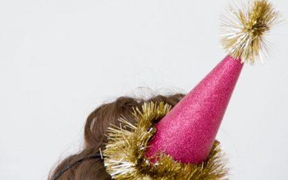 DIY: Gorros para recibir el Año Nuevo