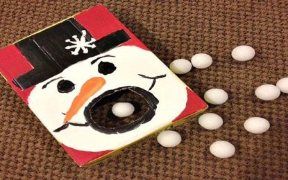 DIY Muñeco de nieve hambriento