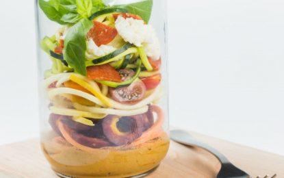 Deliciosos vegetales espiralizados