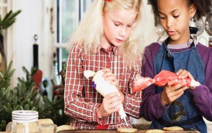 8 Tips para cocinar con niños estas navidades