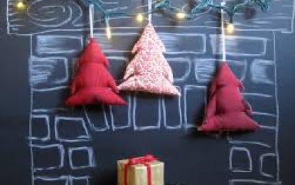 DIY: adorno de pizarra para navidad