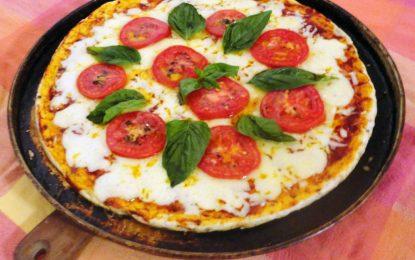 Receta Especial: Pizza de Tomáte
