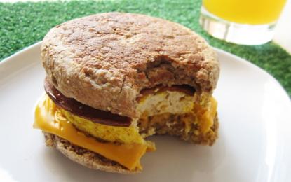 Desayuno al estilo vegano