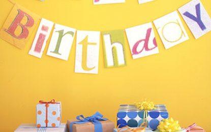 Ideas rápidas y fáciles para decoraciones de cumpleaños