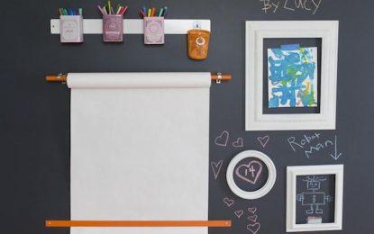 DIY: Ideas para hacer tus propias pizarras en la pared