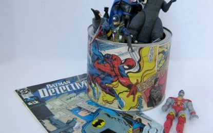 DIY envase de cómics