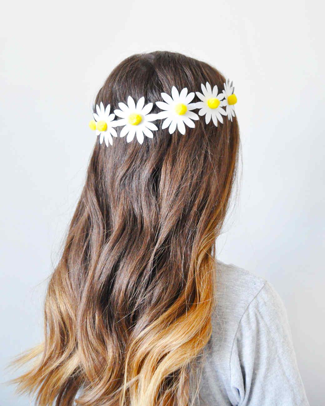 DIY: Corona de flores de papel