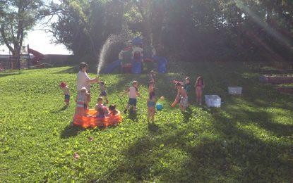 Juegos y actividades con agua para niños