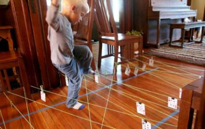 Divertidos juegos para hacer dentro de casa