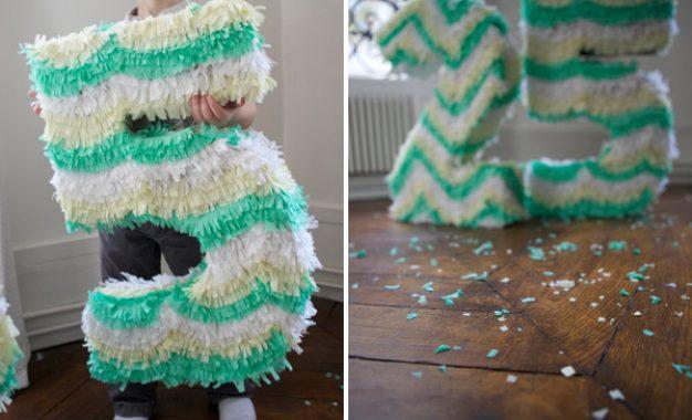 Cómo hacer tu propia piñata de números